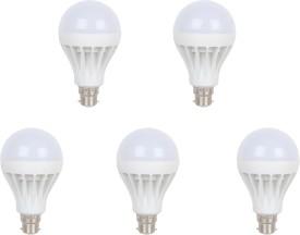 9W-B22-LED-Bulb-(White,-Set-of-5)