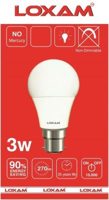 3W B22 LED Bulb (Cool White)