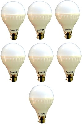 7W-B22-LED-Bulb-(White)-[Pack-of-7]