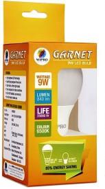 Garnet 9W White LED Bulbs