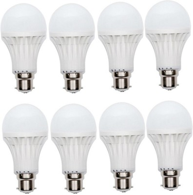 9W 400 lumens Cool Day Ligh LED Bulb (Pack Of 8)
