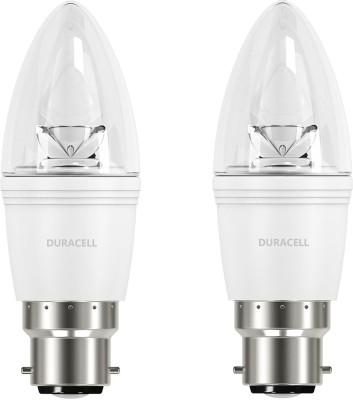 5.3W B22 Led Bulb (Warm White, Set Of 2)