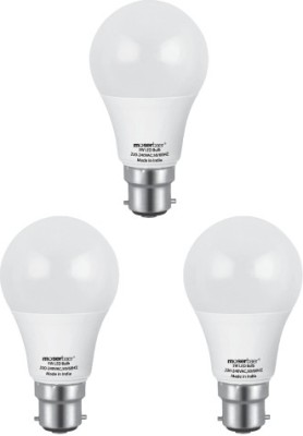 5 W LED Ecolux 6500K Cool Day Light Bulb B22 white (pack of 3)