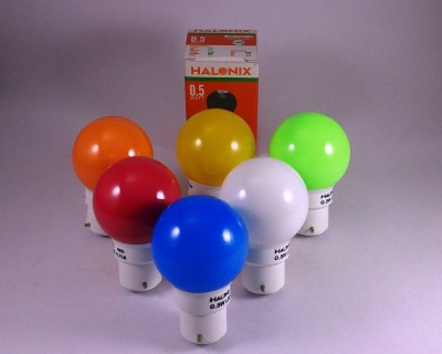 0.5 W LED Bulb Astron multi color (pack of 6)