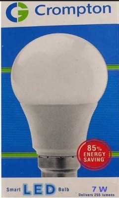 Greaves 7 W LED 600 lumen Bulb B22 White