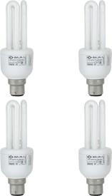 Miniz 3U 15 W CFL Bulb (Pack of 4)