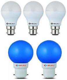 7W-White-And-0.5W-Blue-LED-Bulbs-(Pack-of-5)