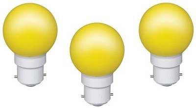 VPL-India-0.5W-Yellow-LED-Bulb-(Pack-of-3)
