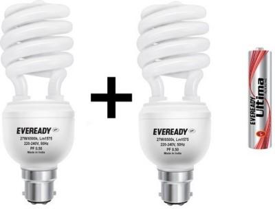 Eveready 27 W CFL Spiral Bulb Image