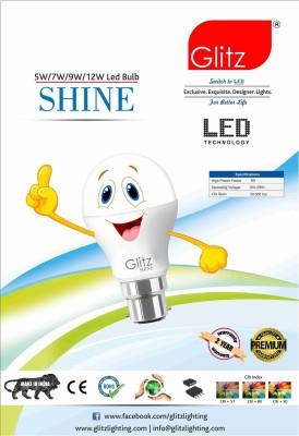 Glitz-5W-B22-90L-LED-Bulb-(Cool-White,-Pack-of-10)