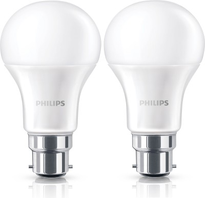 10.5W Steller Bright LED Bulb (White, Pack of 2)