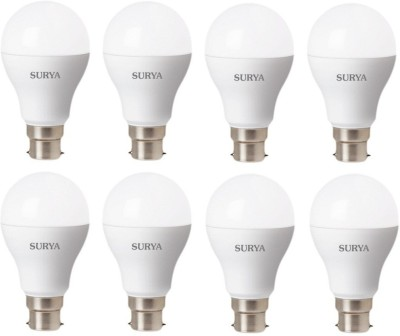 7W White 630 Lumens LED Bulbs (Pack Of 8)