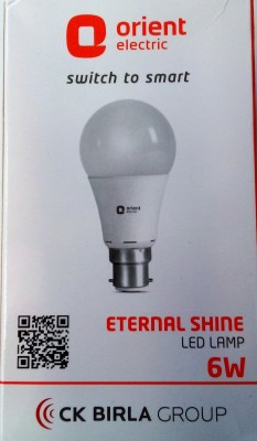 6-W-LED-Bulb-B22-White