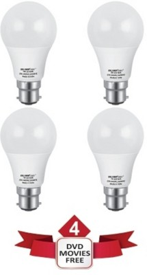 5 W, 7 W LED Ecolux 6500K Cool DayLight Bulb White (pack of 4)