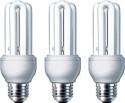 Philips Genei E27 23W CFL Bulb - Yellow, Pack Of 3