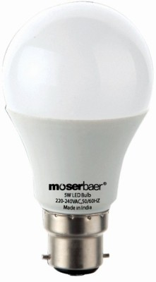 Moserbaer-5W-White-LED-Bulb