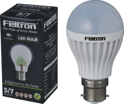 5W B22 Cool White LED Bulb