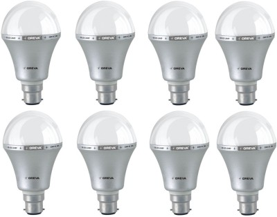 Oreva-5W-White-LED-Bulb-(Pack-Of-8)