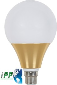 6W B22 Aluminium Body White LED Bulb