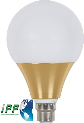 9W B22 Aluminium Body White LED Bulb