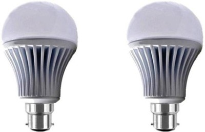 Yellowstar-5W-B22-LED-Bulb-(White,-Set-of-2)