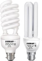 Eveready 32 Watt Spiral 20 Watt Combo with Free 1 AA Alkaline Battery CFL Bulb: Bulb