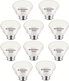 7 W 11020 LED JAYO Spiral Bulb B22 Cool White (pack of 10)