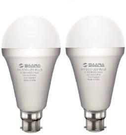 5W White Eco Led Bulbs (Pack Of 2)