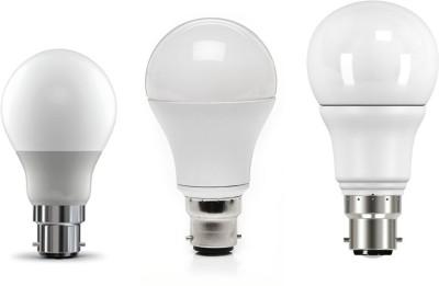 5W,-7W,-9W-Cool-White-LED-Bulb-(Pack-of-3)