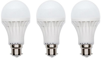 9W 400 lumens Cool Day Ligh LED Bulb (Pack Of 3)