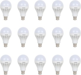 18W LED Bulb (White, pack of 15)