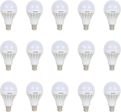 15W White LED Bulbs (Pack Of 15)