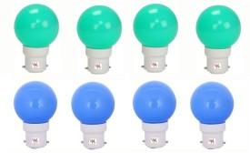 0.5W-LED-Light-Multicolour-(Pack-Of-8)