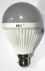 12W-B22-White-LED-Bulb-(Polycarbonate)