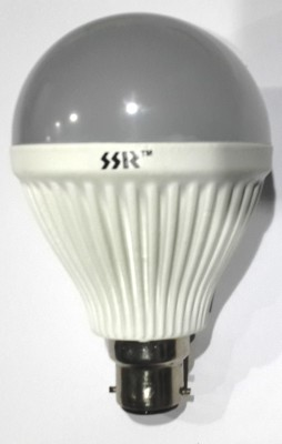 12W B22 White LED Bulb (Polycarbonate)