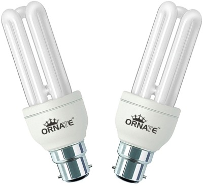 20 W CFL Bulb (White, Pack of 2)