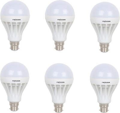7W LED Bulb (White, pack of 6)