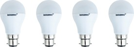 3W 225L LED Bulb (White, Pack of 4)