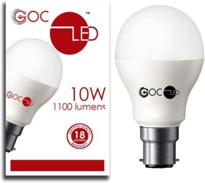 10W Crystal White LED Bulb (Pack of 2)