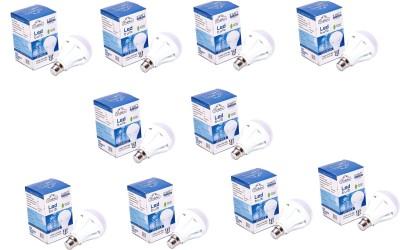 9W-LED-Bulb-(White,-Pack-Of-10)