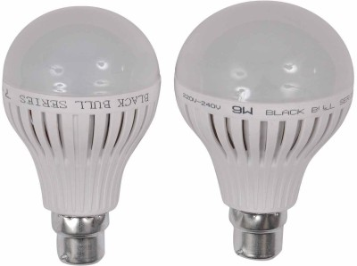 7W,9W B22 LED Bulb (White, Set Of 2)