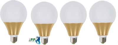 12W LED Bulb (White, Pack of 4)