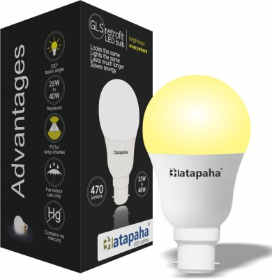 6W-LED-Glass-Bulb-(Yellow)