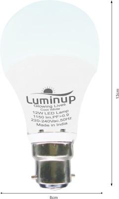 12W B22 LED Bulb (White)