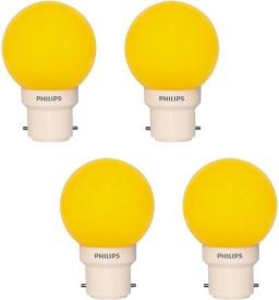Deco Mini 0.5W LED Bulbs (Yellow, Pack of 4)