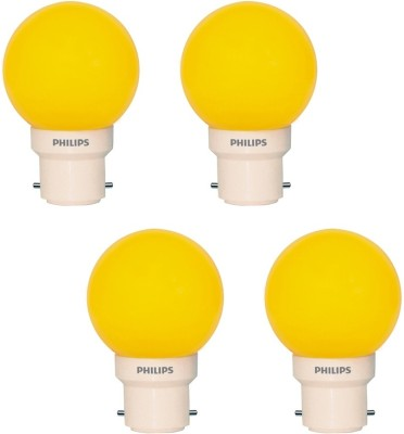 Deco-Mini-0.5W-LED-Bulbs-(Yellow,-Pack-of-4)