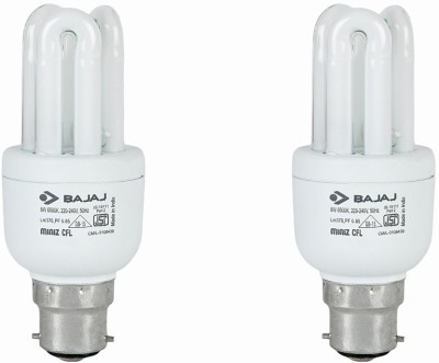 Ecolux 3U CDL 8W CFL Bulb (Pack of 4)
