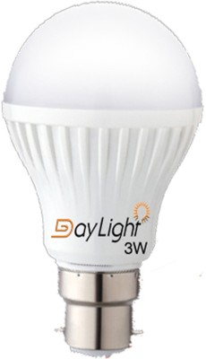 Daylight-3W-B22-LED-Bulb-(White)