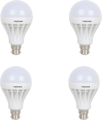 7W LED Bulb (White, pack of 4)