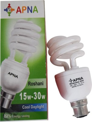 Apna-20-W-CFL-Roshani-Bulb-(Cool-Day-Light)